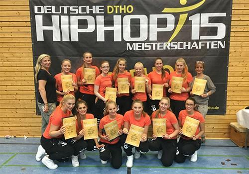 4. Platz bei der deutschen DTHO Hip Hop Meisterschaft