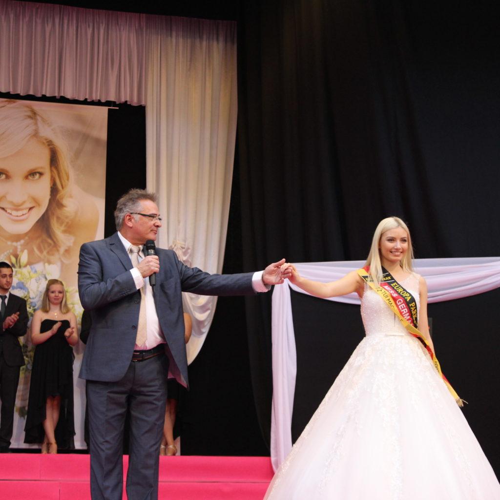 Miss Germany Auf Der Brautmesse